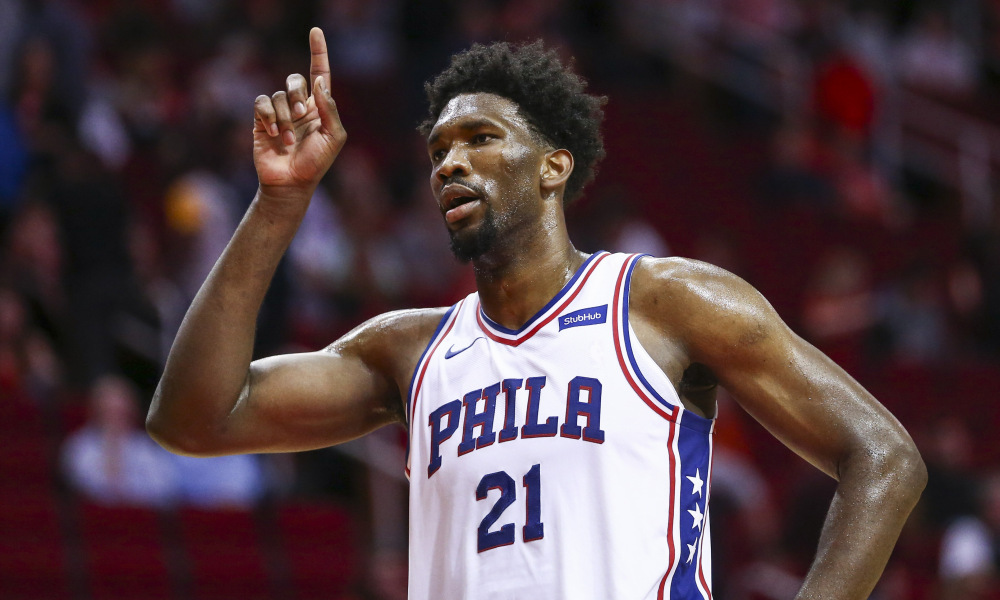USP NBA: PHILADELPHIA 76ERS AT HOUSTON ROCKETS S BKN HOU PHI USA TX